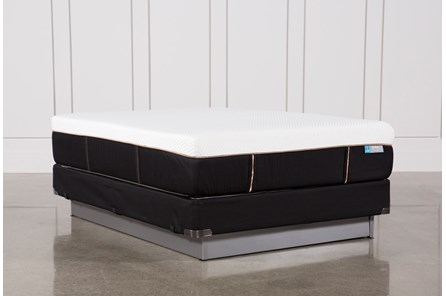Copper Hybrid Firm Queen Mattress W/Foundation - Main
