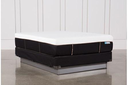 Copper Hybrid Firm Queen Mattress W/Foundation - Main