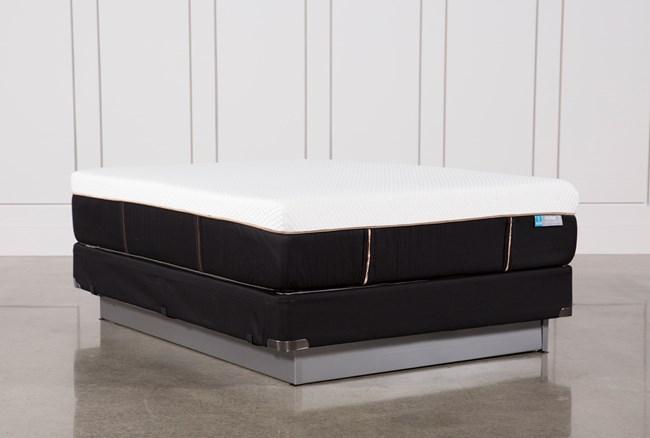 Copper Hybrid Firm Queen Mattress W/Foundation - 360