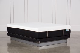 Copper Hybrid Firm Queen Mattress W/Low Profile Foundation