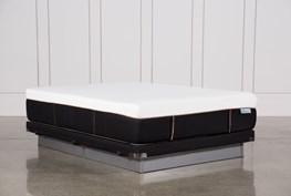 Copper Hybrid Firm Queen Mattress W/Low Profile Foundation