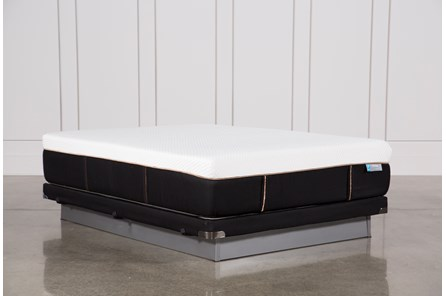 Copper Hybrid Firm Queen Mattress W/Low Profile Foundation - Main