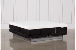 Copper Hybrid Firm Cal King Mattress W/Low Profile Foundation