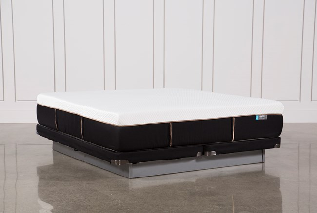 Copper Hybrid Firm Cal King Mattress W/Low Profile Foundation - 360