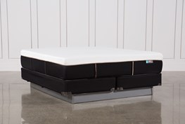 Copper Hybrid Firm Eastern King Mattress W/Foundation