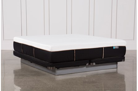 Copper Hybrid Firm Eastern King Mattress W/Low Profile Foundation - Main