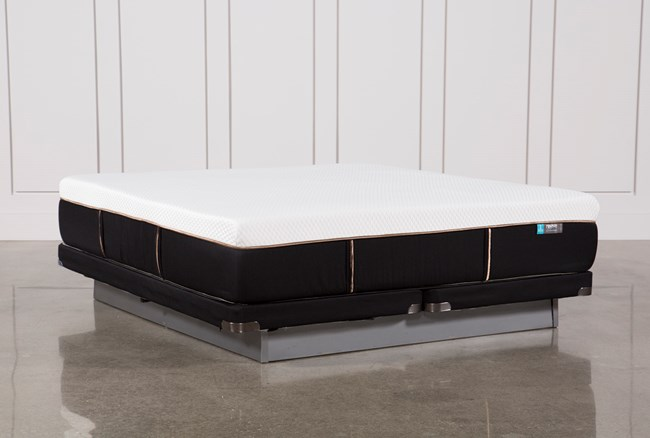 Copper Hybrid Firm Eastern King Mattress W/Low Profile Foundation - 360