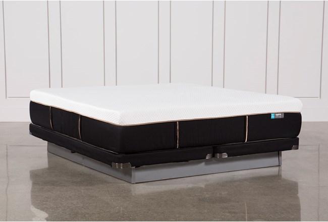 Copper Hybrid Firm Eastern King Mattress W/Low Profile Foundation - 360