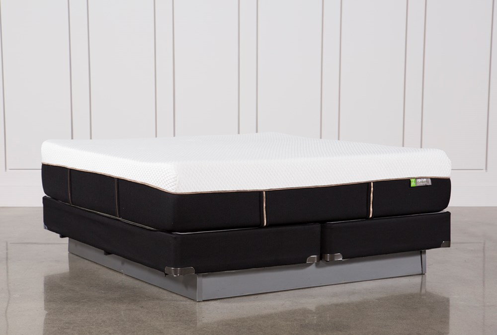 Copper Hybrid Medium California King Mattress W/Foundation