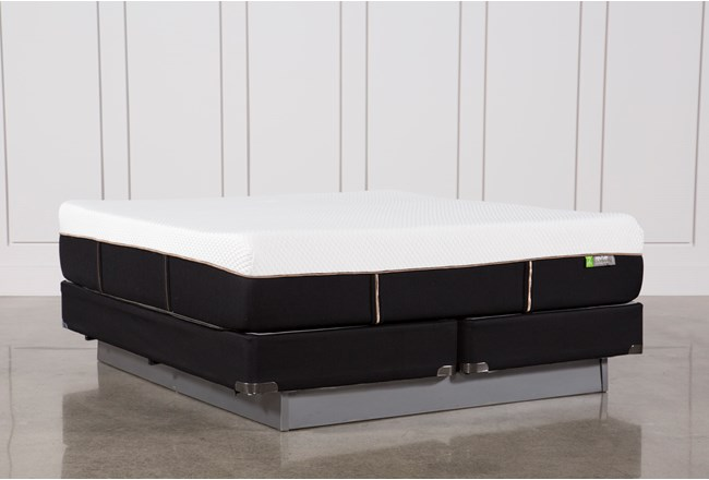 Copper Hybrid Medium California King Mattress W/Foundation - 360