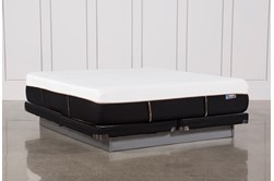 Copper Hybrid Med Cal King Mattress W/Low Profile Foundation