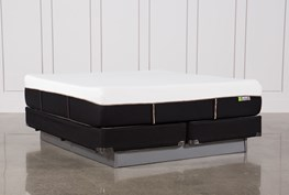 Copper Hybrid Medium Eastern King Mattress W/Foundation