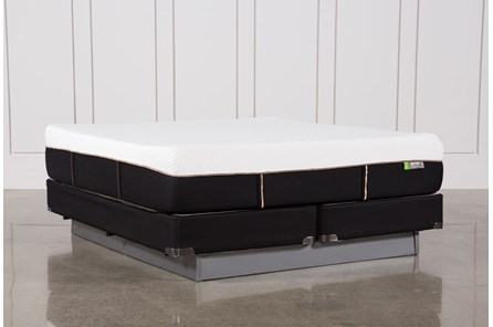 Copper Hybrid Medium Eastern King Mattress W/Foundation - Main