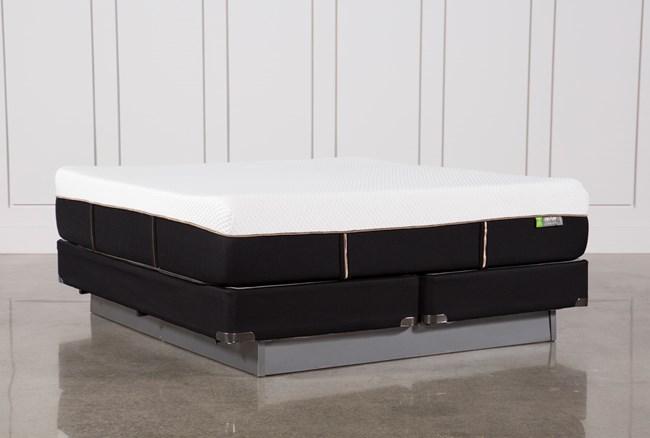 Copper Hybrid Medium Eastern King Mattress W/Foundation - 360