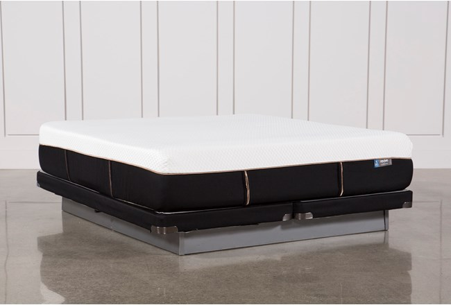 Copper Hybrid Med Eastern King Mattress W/Low Profile Foundation - 360