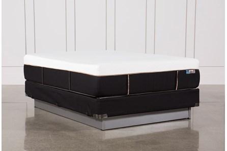 Copper Hybrid Plush Queen Mattress W/Foundation - Main