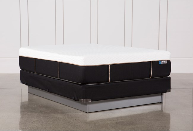 Copper Hybrid Plush Queen Mattress W/Foundation - 360