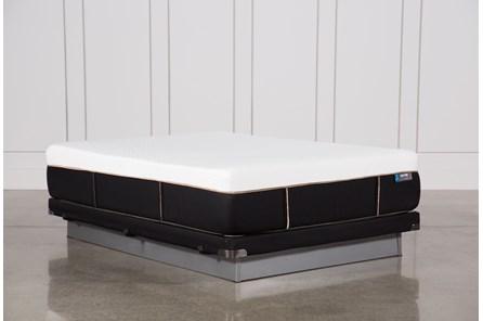 Copper Hybrid Plush Queen Mattress W/Low Profile Foundation - Main