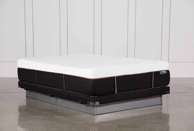 Copper Hybrid Plush Queen Mattress W/Low Profile Foundation - 360