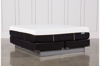 Copper Hybrid Plush California King Mattress W/Foundation
