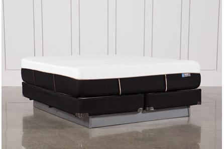 Copper Hybrid Plush California King Mattress W/Foundation - Main
