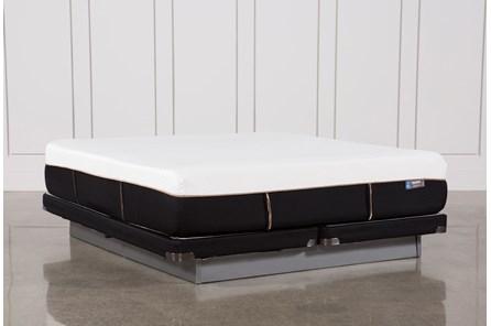 Copper Hybrid Plush Cal King Mattress W/Low Profile Foundation - Main