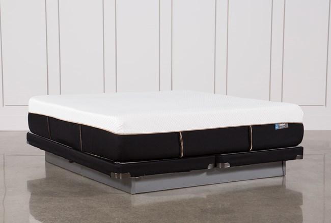 Copper Hybrid Plush Cal King Mattress W/Low Profile Foundation - 360