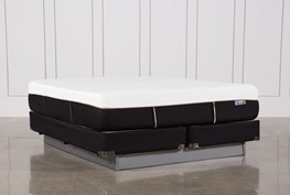 Copper Hybrid Plush Eastern King Mattress W/Foundation
