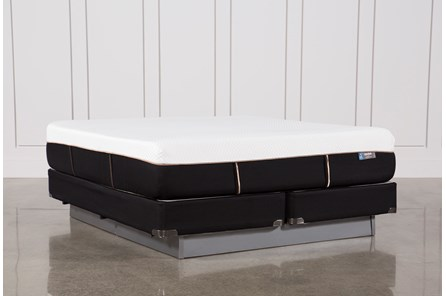 Copper Hybrid Plush Eastern King Mattress W/Foundation - Main