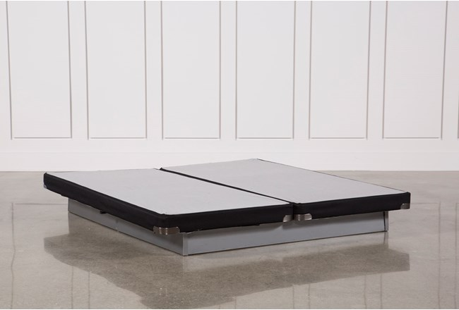 Kit-Revive Geneva Black California King Split Low Profile Foundation Set - 360