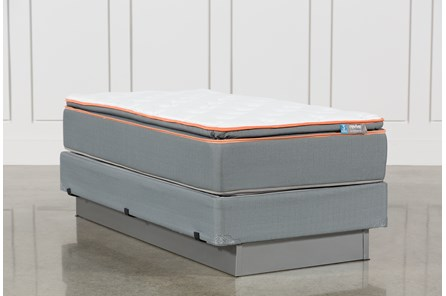 Activize Plush Twin Mattress W/Foundation - Main