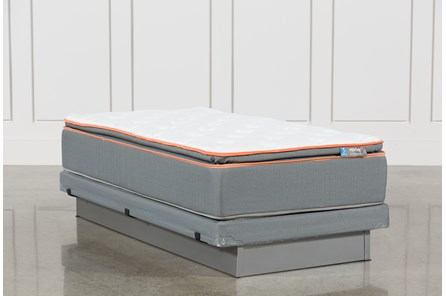 Activize Plush Twin Mattress W/Low Profile Foundation - Main