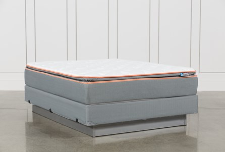 Activize Plush Queen Mattress W/Foundation