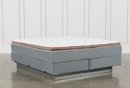 Activize Plush Eastern King Mattress W/Foundation