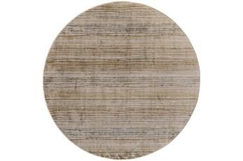 96 Inch Round Rug-Sand Striations