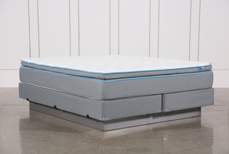 Surge Plush Eastern King Mattress W/Foundation