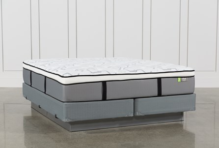 Grey Springs Medium Eastern King Mattress W/Foundation