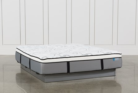 Grey Springs Plush Eastern King Mattress