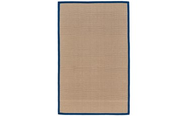 42X66 Outdoor Rug-Faye Blue Border