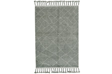 93X117 Rug-Maceo Ash Grey - Main