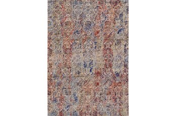 "1'7""x2'8"" Rug-Gish Sienna And Blue"