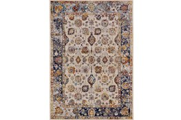 60X96 Rug-Solene Cream And Blue