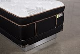 Copper Springs Medium Twin Xl Mattress W/Low Profile Foundation - Top