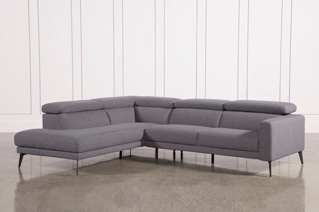 Neo Grey 2 Piece Sectional W/Laf Chaise