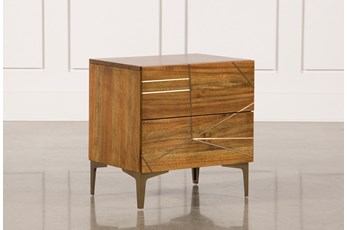 "Talbert 2-Drawer 25"" Nightstand"
