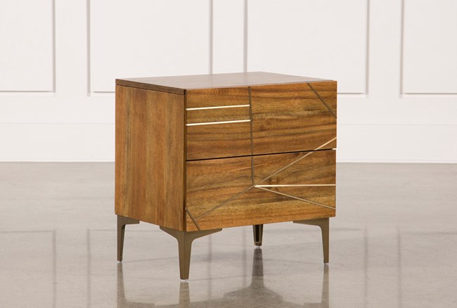 Talbert 2-Drawer Nightstand - 360