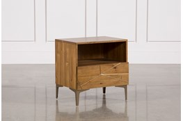 "Talbert 1-Drawer 25"" Nightstand"