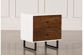 "Clark 2-Drawer 26"" Nightstand"