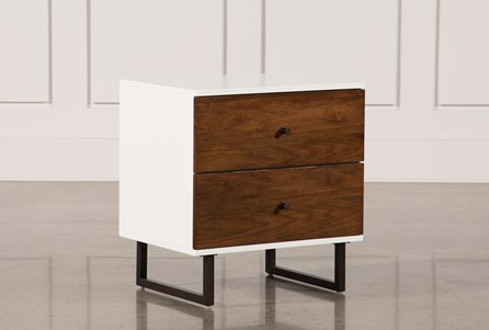 Clark 2-Drawer Nightstand