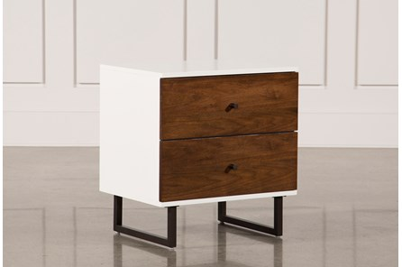 Clark 2-Drawer Nightstand - Main
